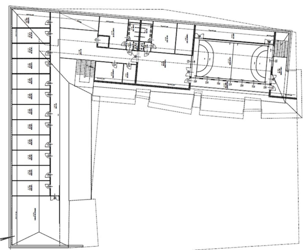 Alaprajzi terv – tetőtér
