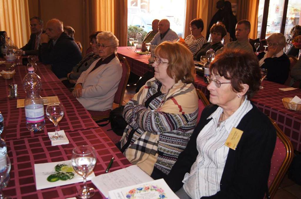 A magyarországi német családfakutatók közgyűlésén
